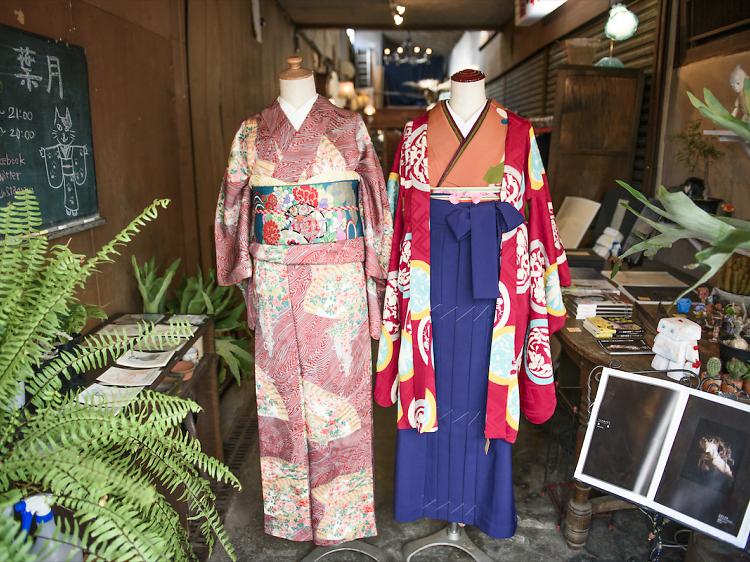 Get your kimono on at The Yard and Kimono Hazuki