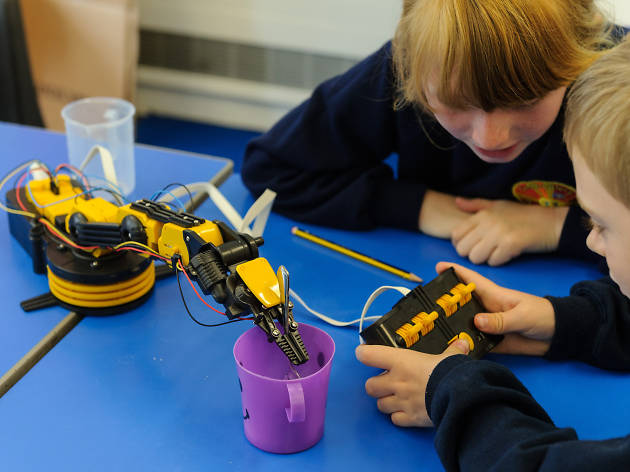 National Army Museum, 101 things to do with kids in London, Robotics Easter Challenge