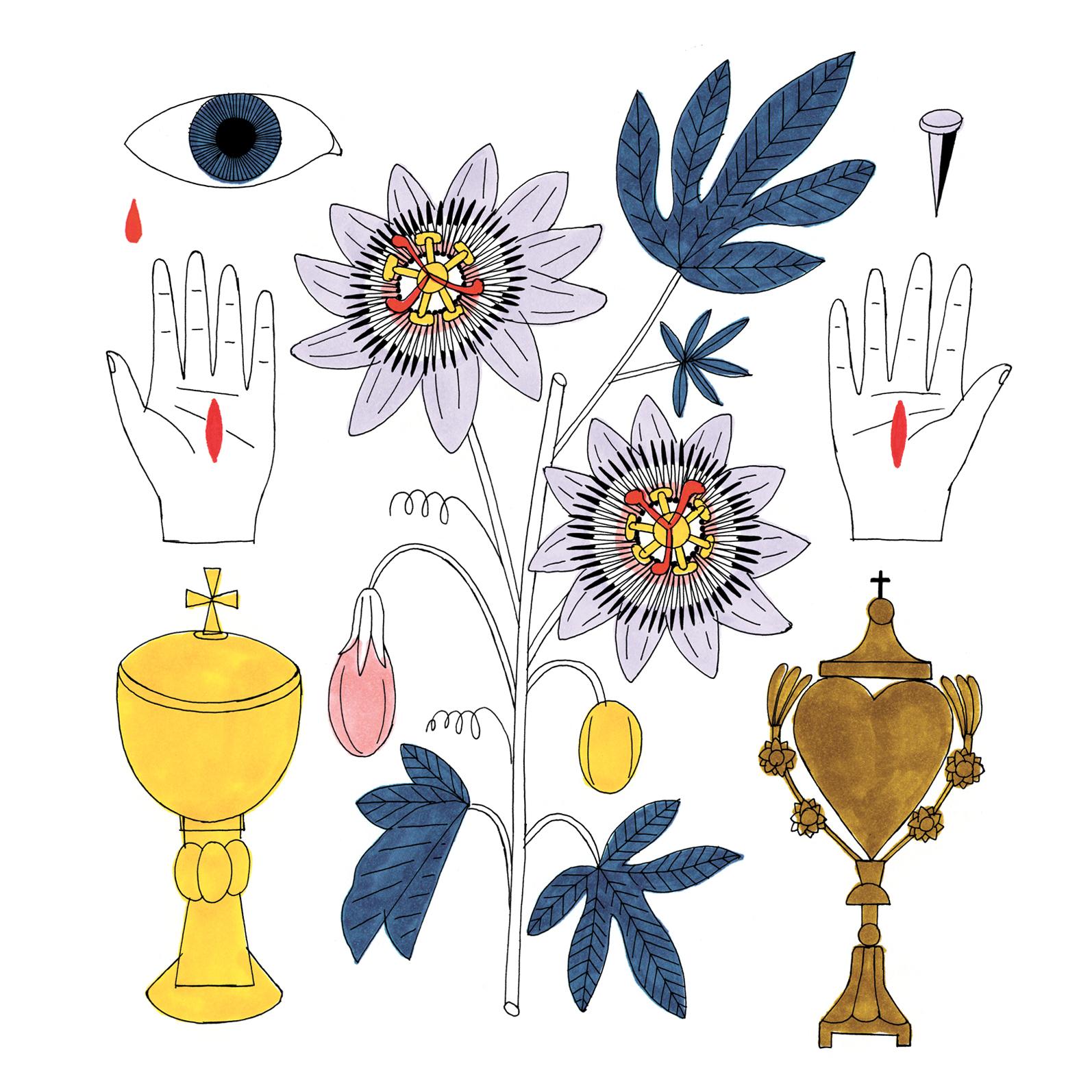 Chasseur de fleurs