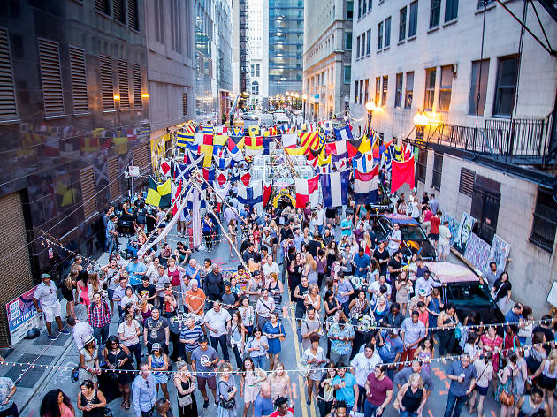ACTIVATE will throw parties in Loop alleys again this summer
