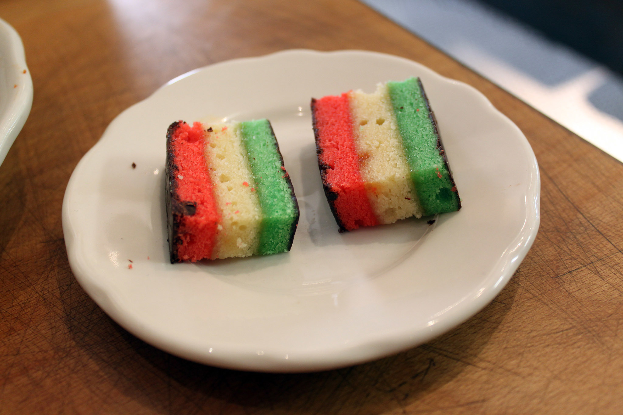 Tricolor cookies