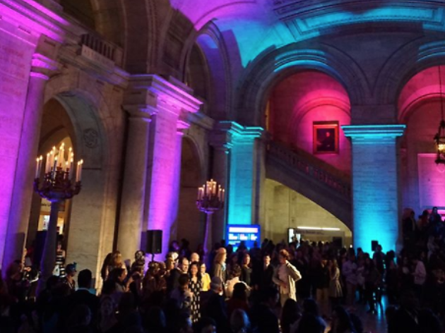Free party lets you explore the New York Public Library after dark