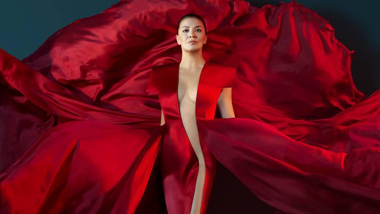 A promo still for Opera Australia's production of Carmen at Arts Centre Melbourne