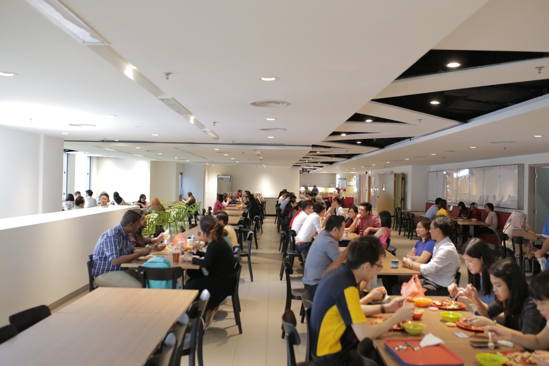 Menara Ambank food court   Restaurants in KL City Centre