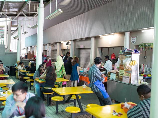 Menara Public Bank food court