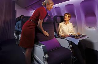 Virgin Australia Premium Economy Cabin