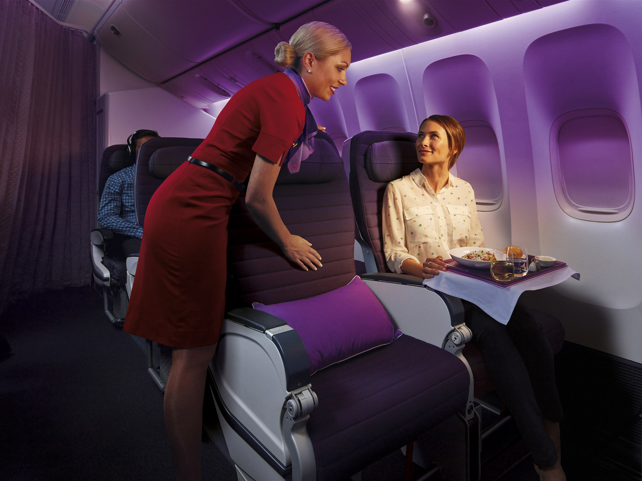 Top five premium economy cabins