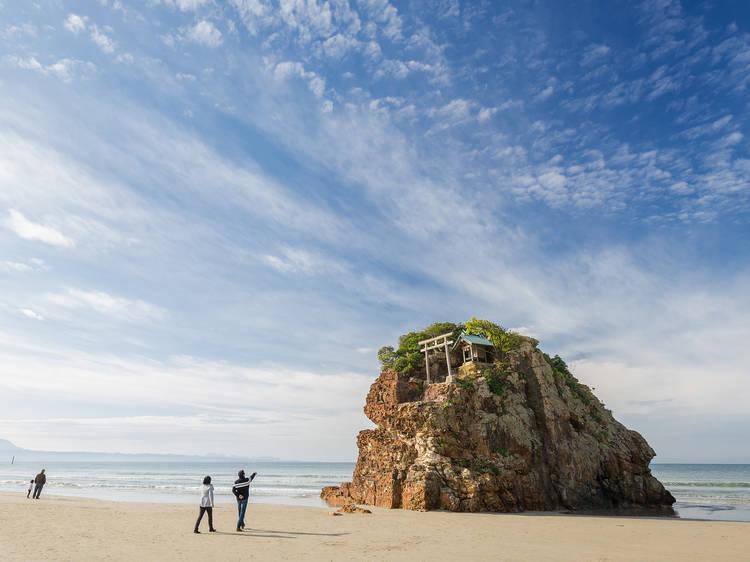 Check out a divine beach...