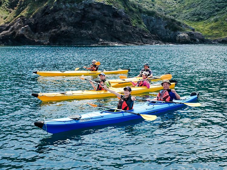 Be a kayak captain...