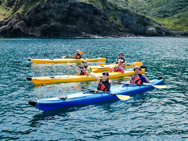 48 Sea kayaking experience