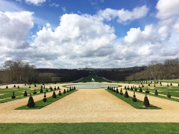 Parc des Sceaux gardens