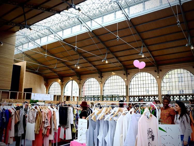 Violette Sauvage s'empare du Pavillon Baltard pour un vide-dressing de 2 700 m2