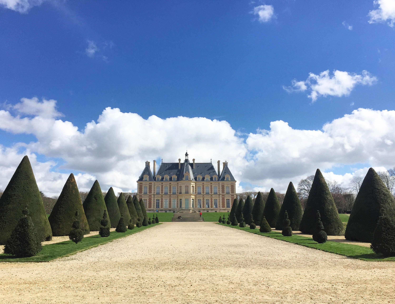Parc des Sceaux chateau from gardens