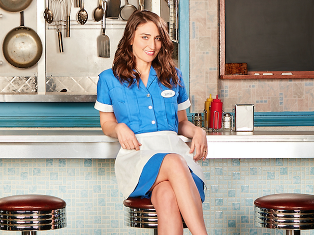 Sara Bareilles talks about stepping into the lead role of Broadway's Waitress
