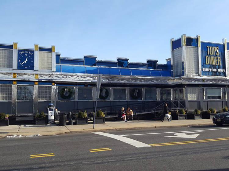 Tops Diner in East Newark, NJ