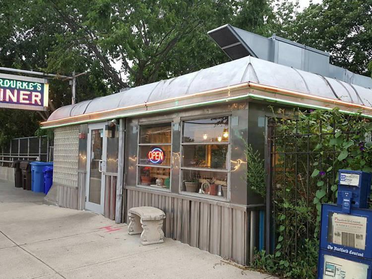 O'Rourke's Diner in Middletown, CT