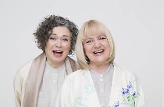 Judith Lucy & Denise Scott