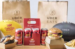 UberEats Footy Feast pack