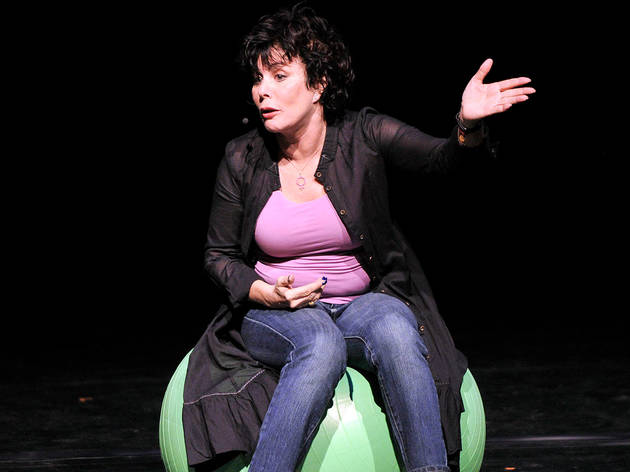 "Ruby Wax: ""It used to be length of genitals, now it's 'look how stressed I am'"""