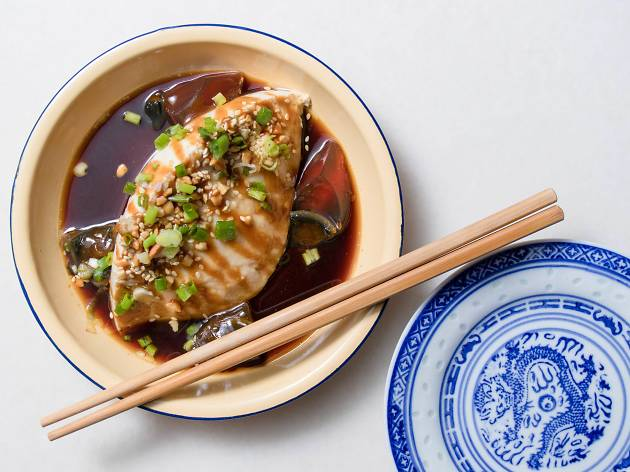 Tofu dish at Ba Hao