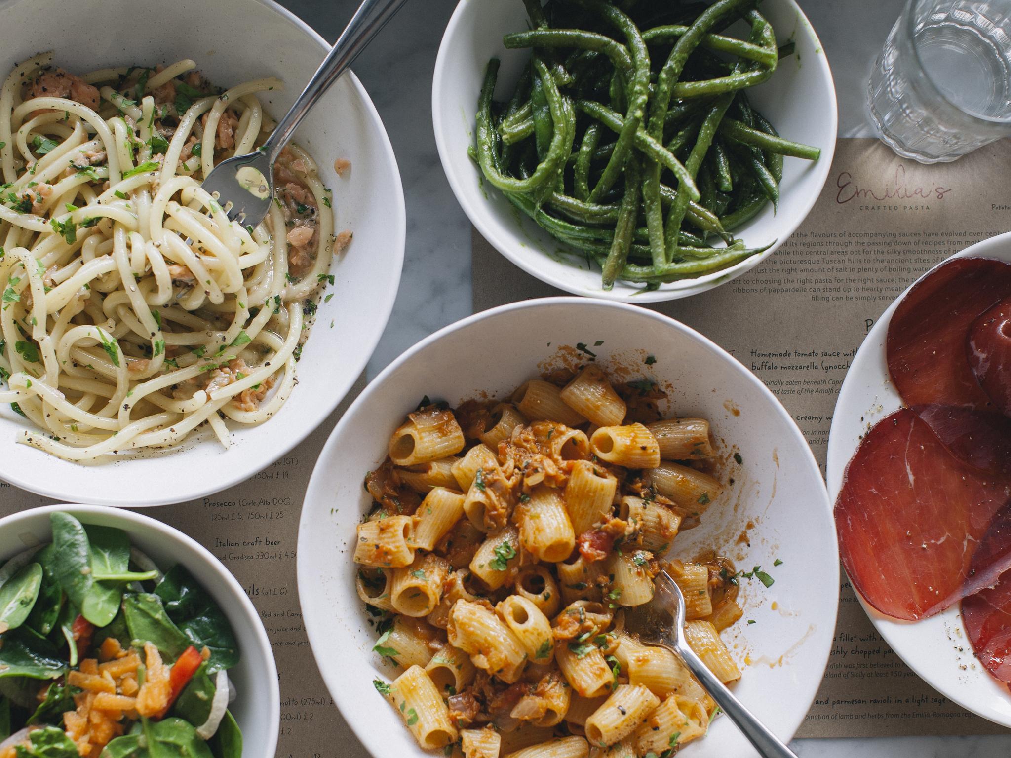 emilia's crafted pasta