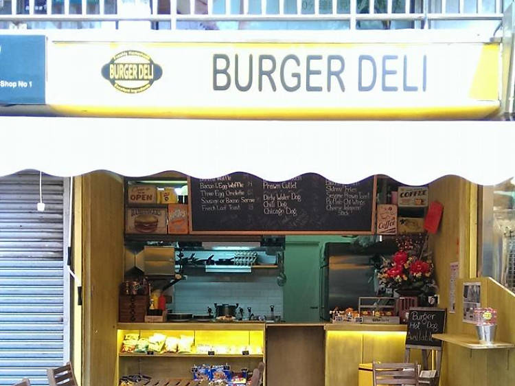 Chilli dog at Burger Deli