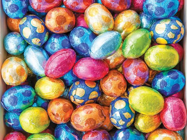 Be it chocolate or marzipan, delicious Easter eggs are a must try April delight