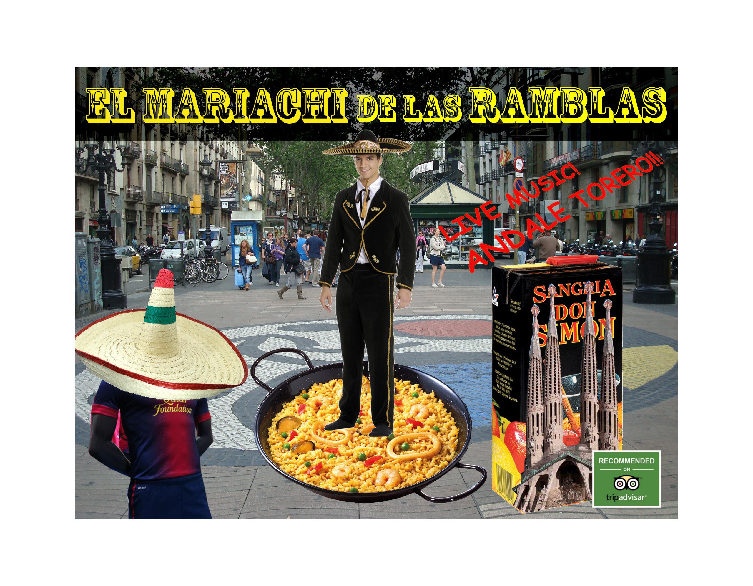 EL MARIACHI DE LAS RAMBLAS
