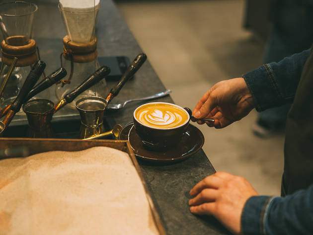 best cafes and coffee shops in london, coffee island
