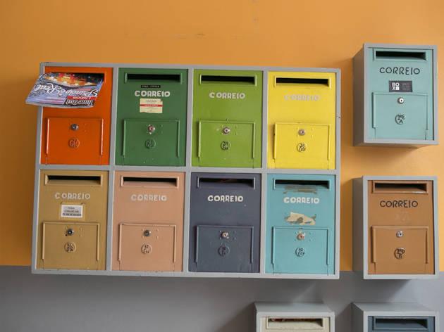 caixas correio