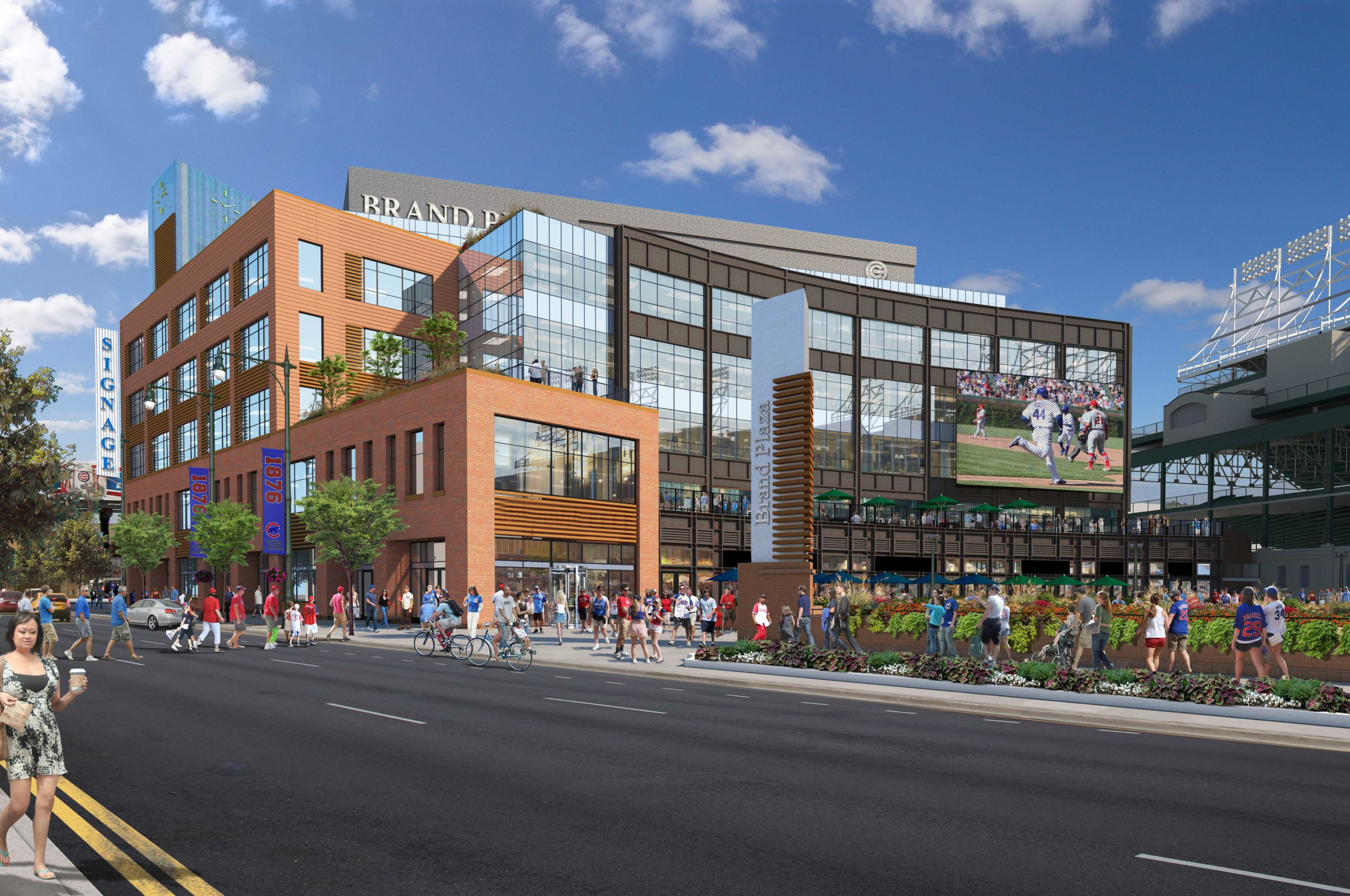 Will the Park at Wrigley be the North Side's new town square?