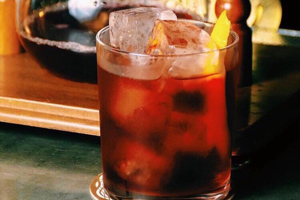 The Marin Boulevardier from Kobrick Coffee bar