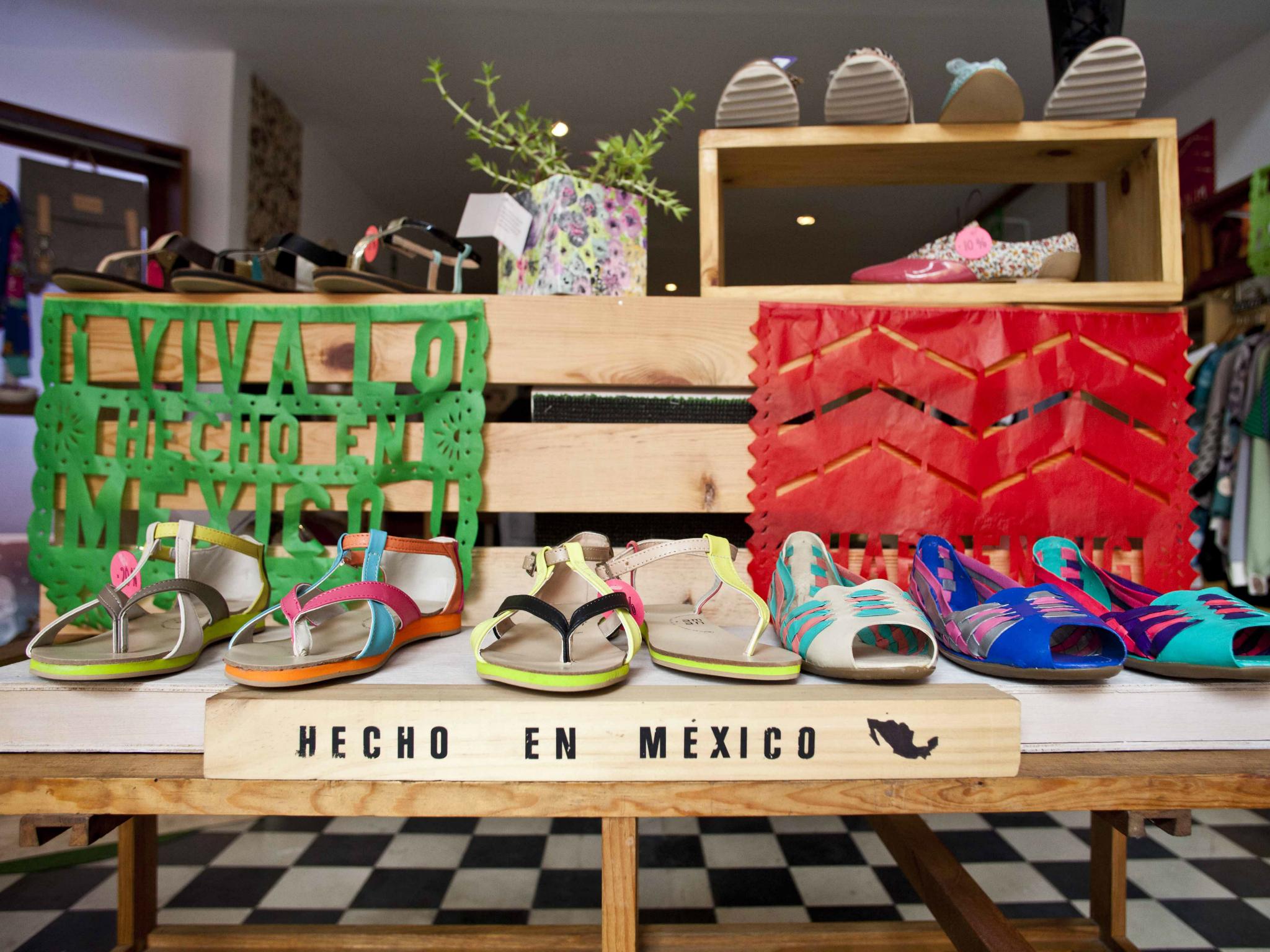 Tiendas en la Ciudad de México por áreas