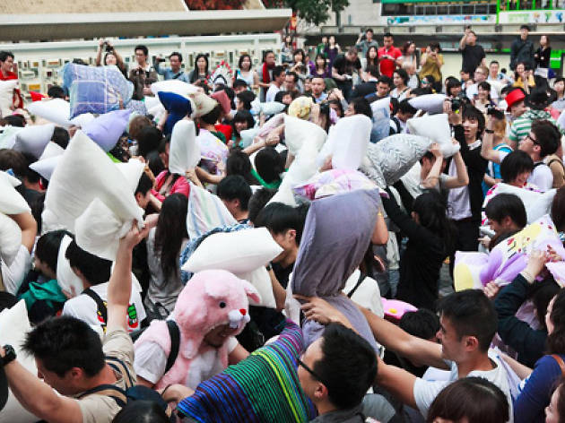 Hong Kong Pillow Fight Day