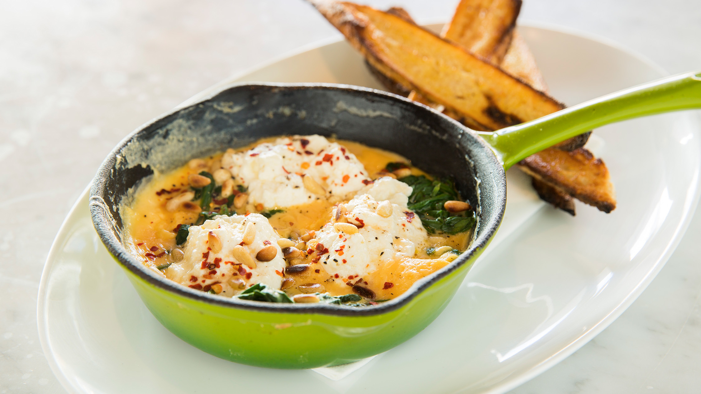 Baked eggs at Bills Bondi