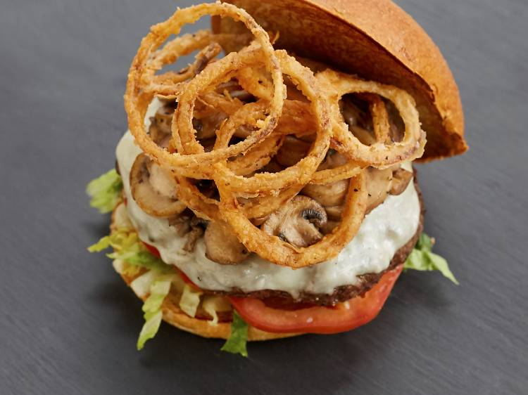 Build a completely customisable burger