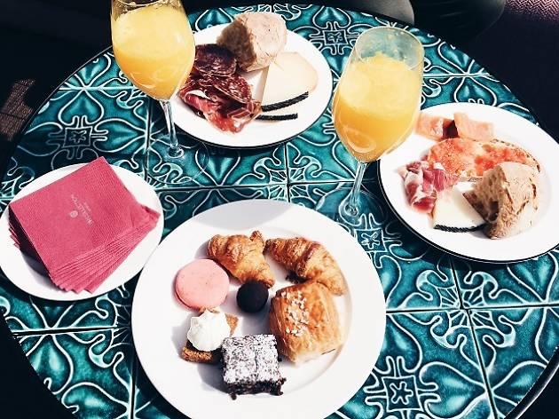 Terrazas bonitas de desayuno