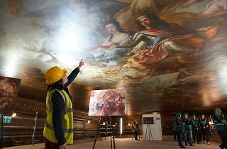 Painted Hall Ceiling Tours