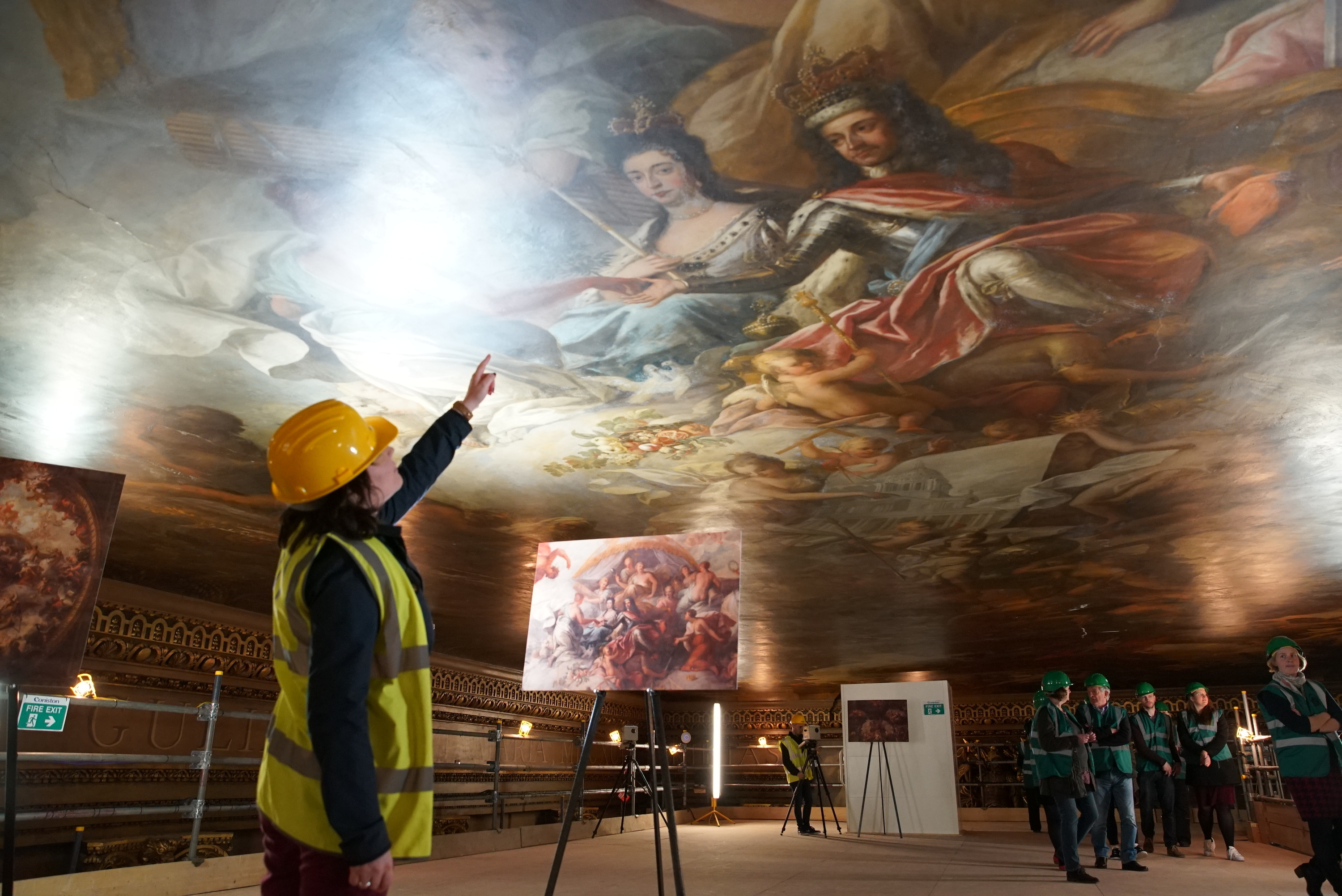 You can now take a tour of the 'Sistine Chapel of the UK' in Greenwich