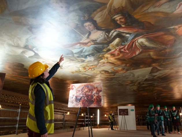 Greenwich Painted Hall Ceiling Tours