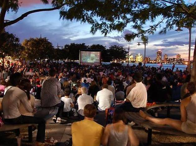 Head to an outdoor movie