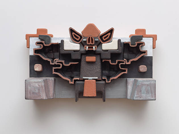 "Steve Keister, ""Post-Columbian: New Ceramic Reliefs and Fiberglass Sculpture from the 1980s"""