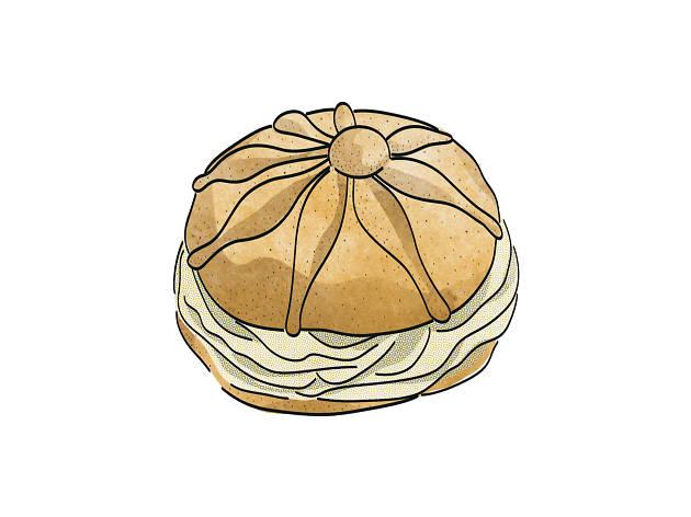 Panes con nata