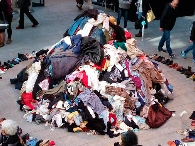 Maratón de reciclaje textil creativo