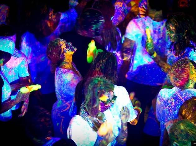 Holi Glow Party