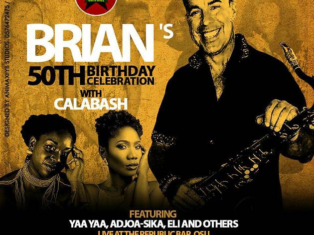 Brian's 50th with Calabash