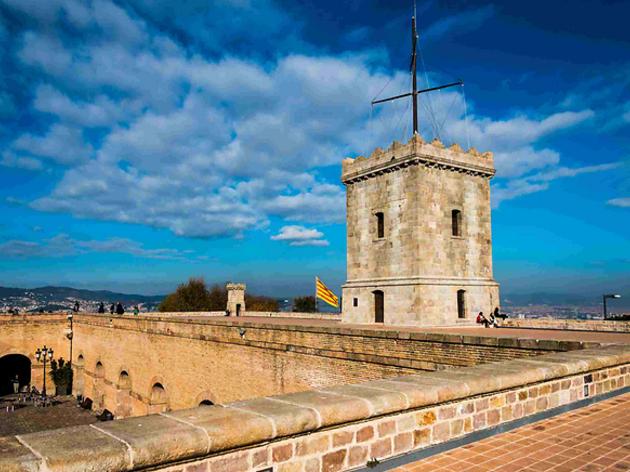 castell montjuïc