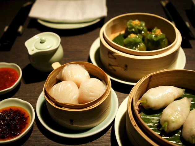 london's best dumplings, yauatcha