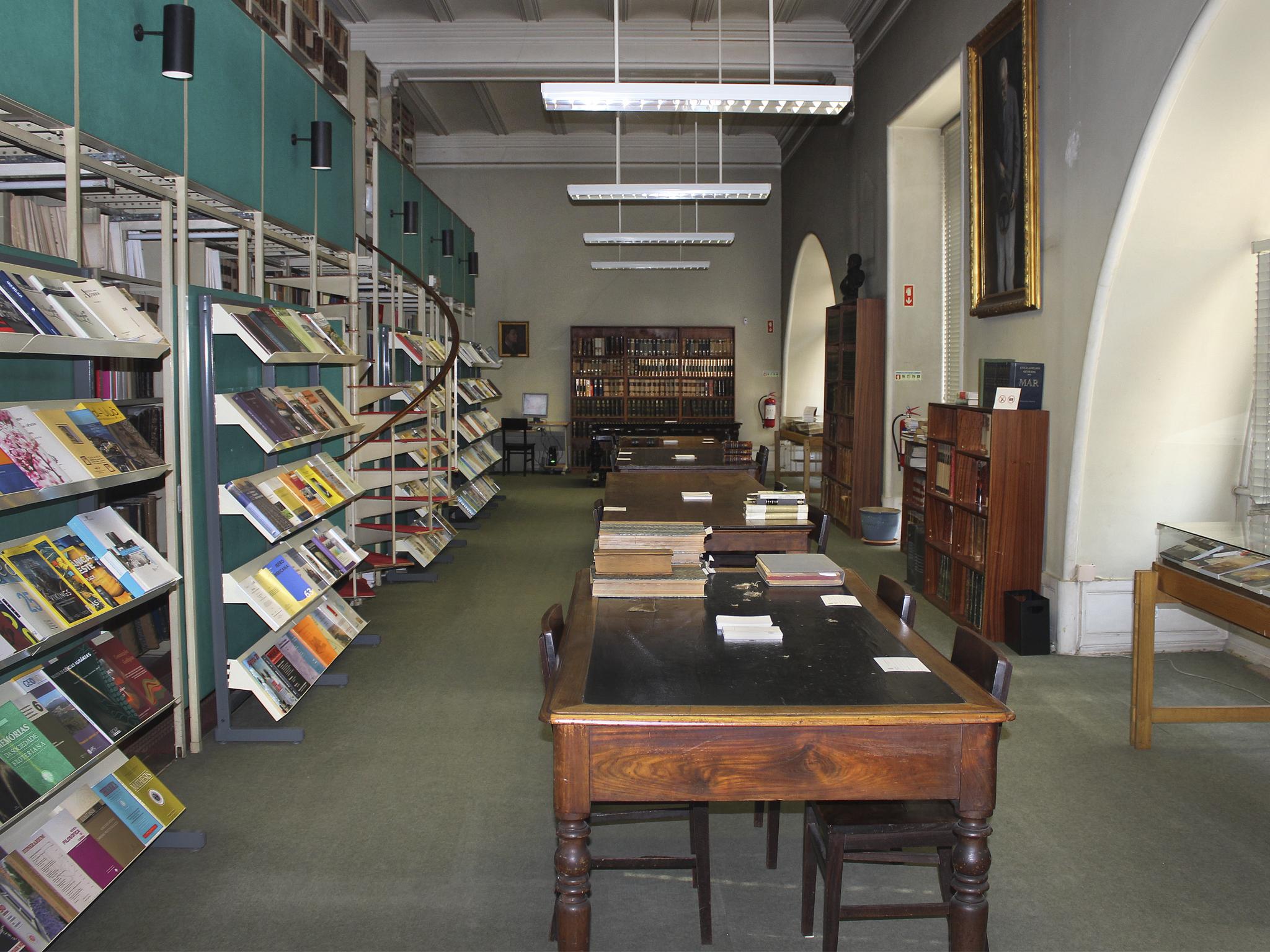 Biblioteca da Sociedade de Geografia