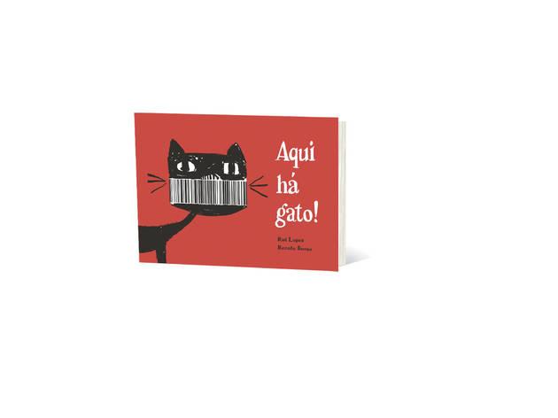 livro aqui há gato